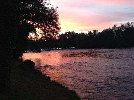 Beaulieu sunset