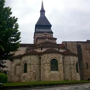 Chambon church