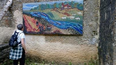Chapel mosaic