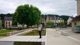 Fountain in Chambon