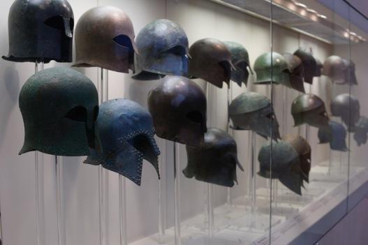 helmets at olympia