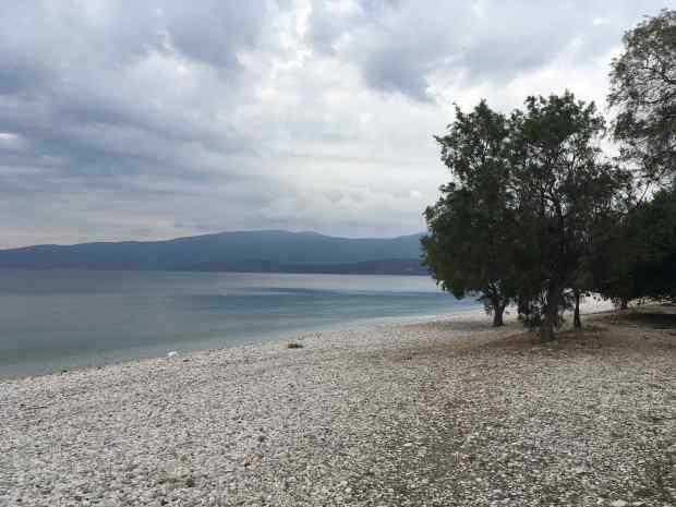 isthmia beach