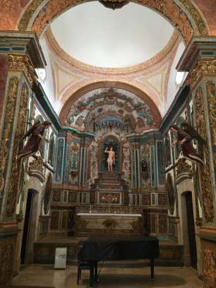 Inside church tavira
