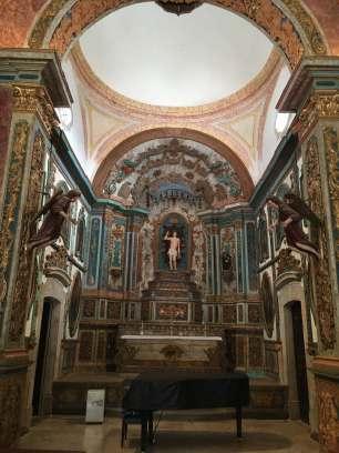 Inside church tavira