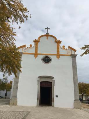 Outside church Tavira