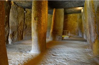 Dolmen interior