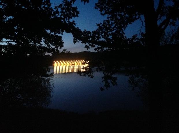 Montigny night barrage