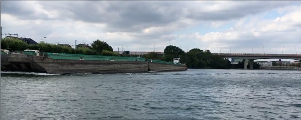 barge videoshot
