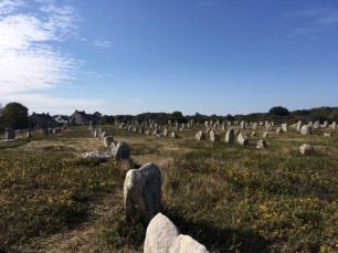 carnac stone rows